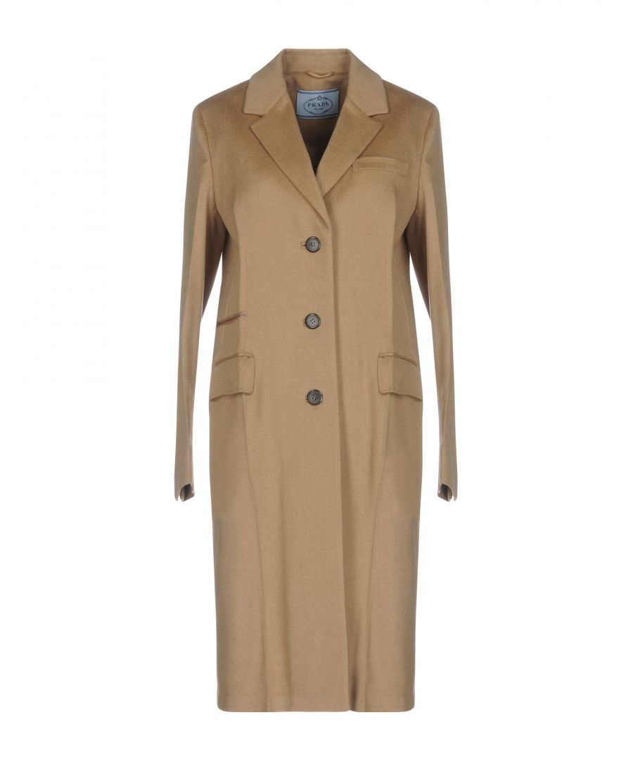 Image for Prada Camel Overcoat