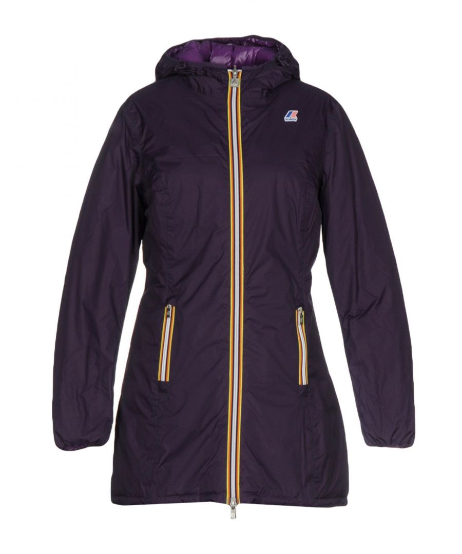 Image for K-Way Purple Techno Fabric Jacket