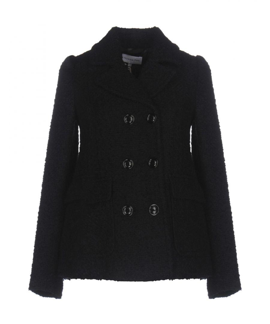 Image for Patrizia Pepe Dark Blue Double Breasted Jacket