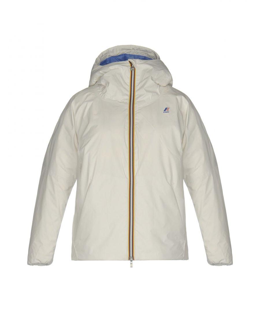 Image for K-Way White Techno Fabric Padded Jacket