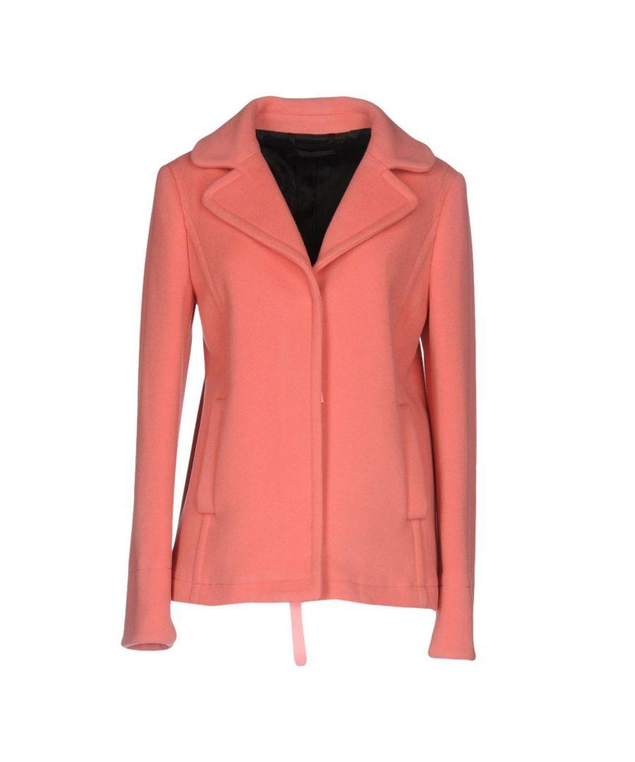 Image for Twinset Salmon Pink Virgin Wool Jacket