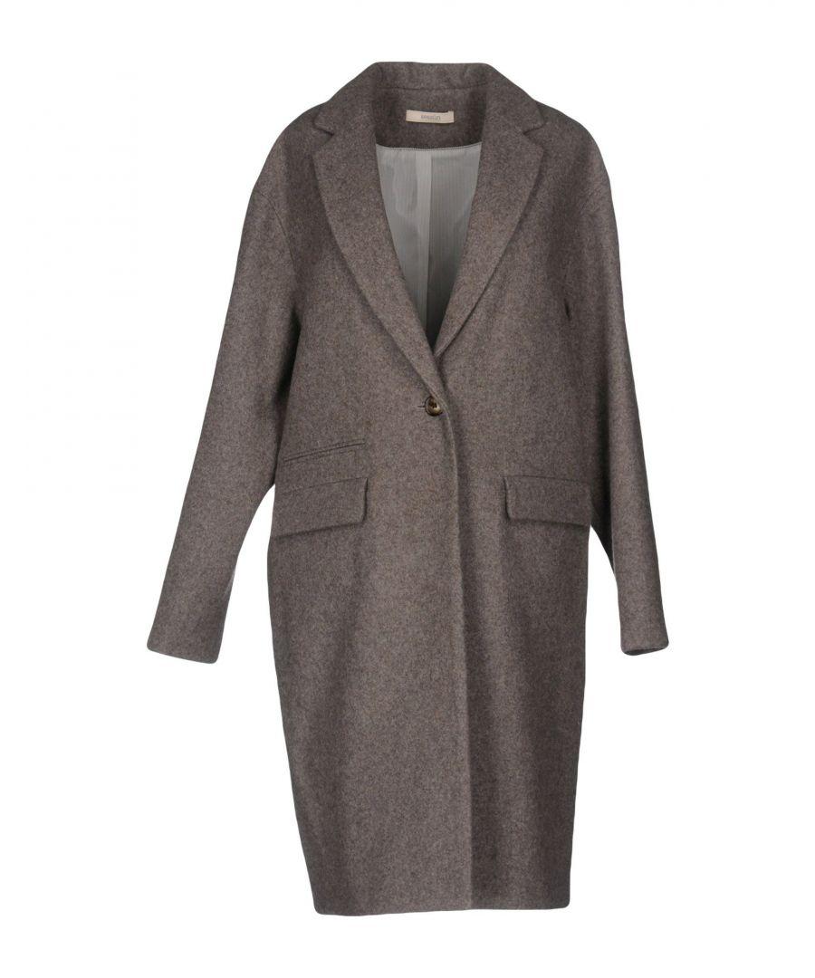 Image for Sessun Khaki Wool Overcoat