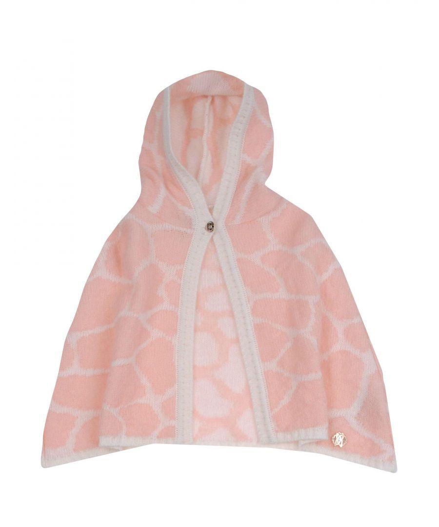 Image for COATS & JACKETS Roberto Cavalli Junior Pink Girl Virgin Wool
