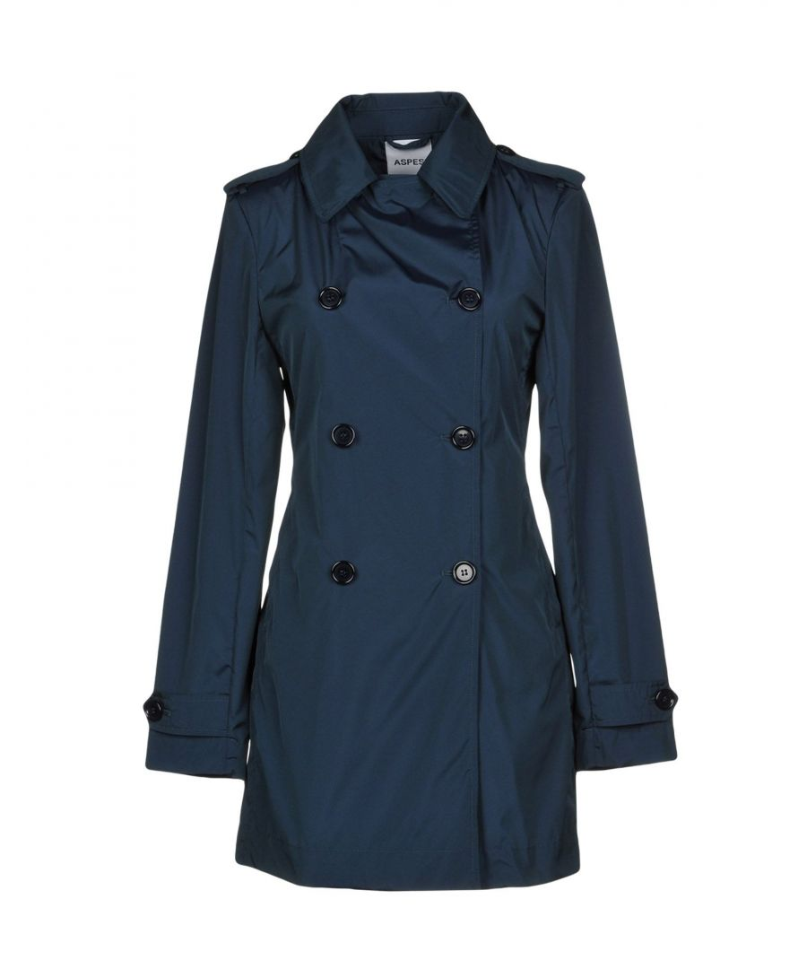 Image for Aspesi Deep Jade Double Breasted Trenchcoat
