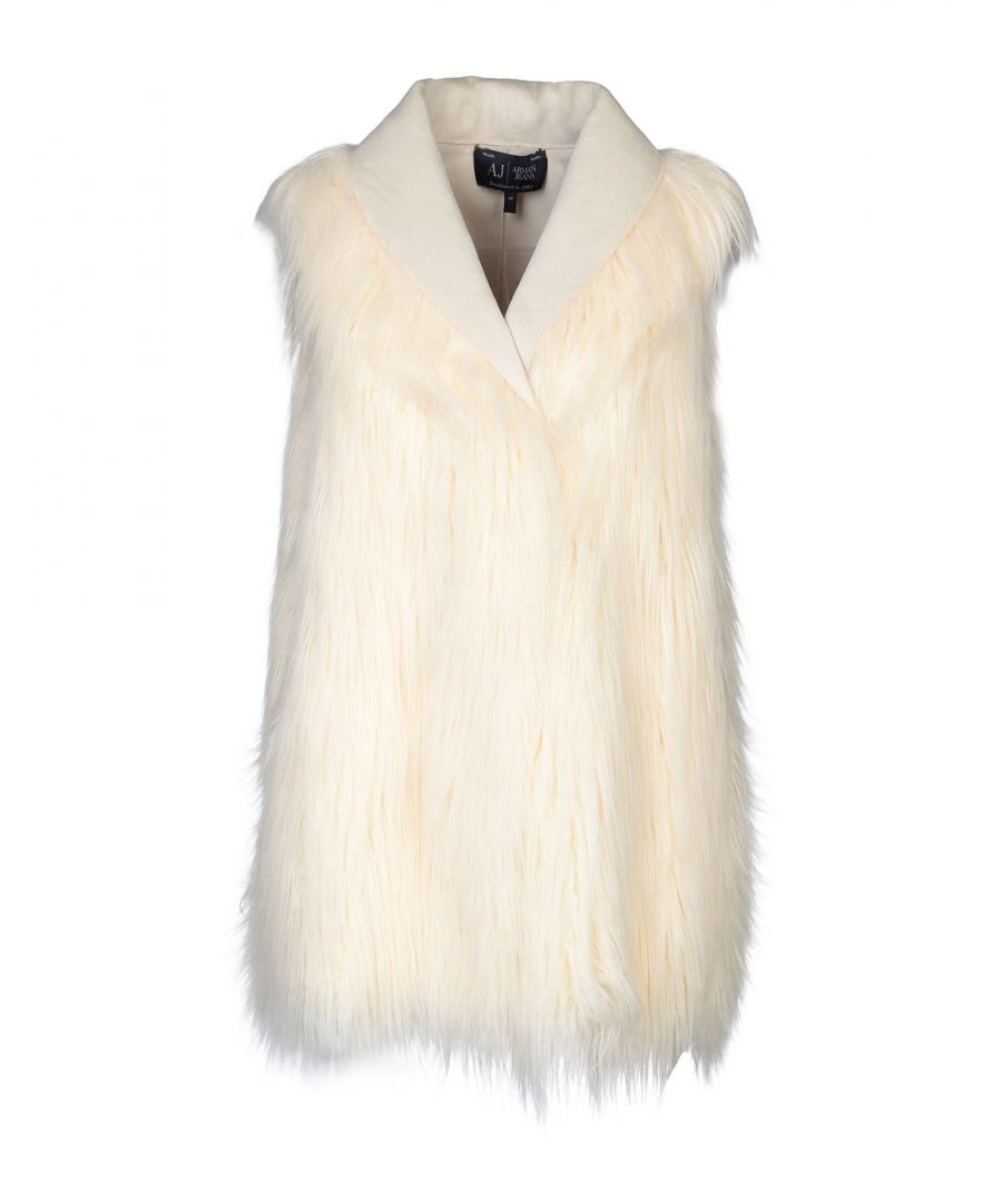 Image for COATS & JACKETS Armani Jeans Ivory Woman Polyester