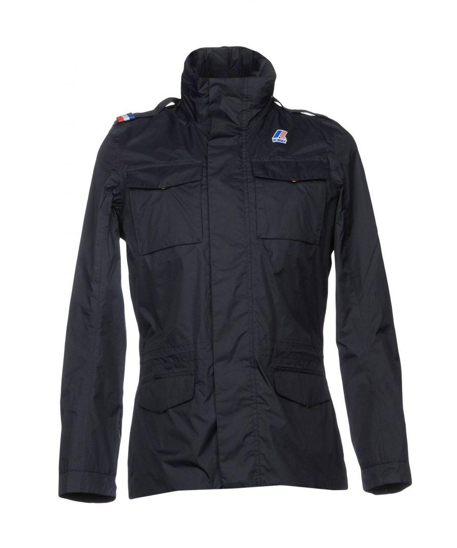 Image for K-Way Dark Blue Techno Fabric Jacket
