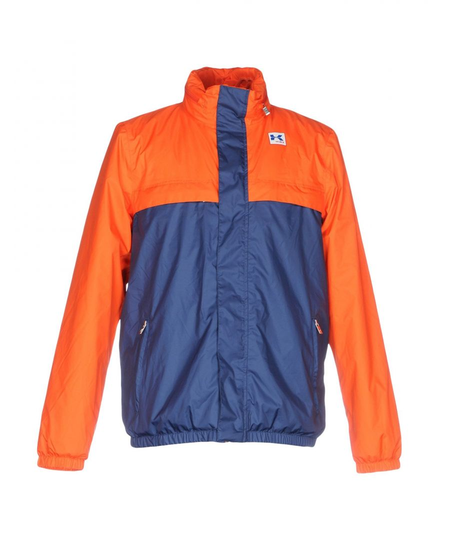 Image for K-Way Orange Techno Fabric Jacket