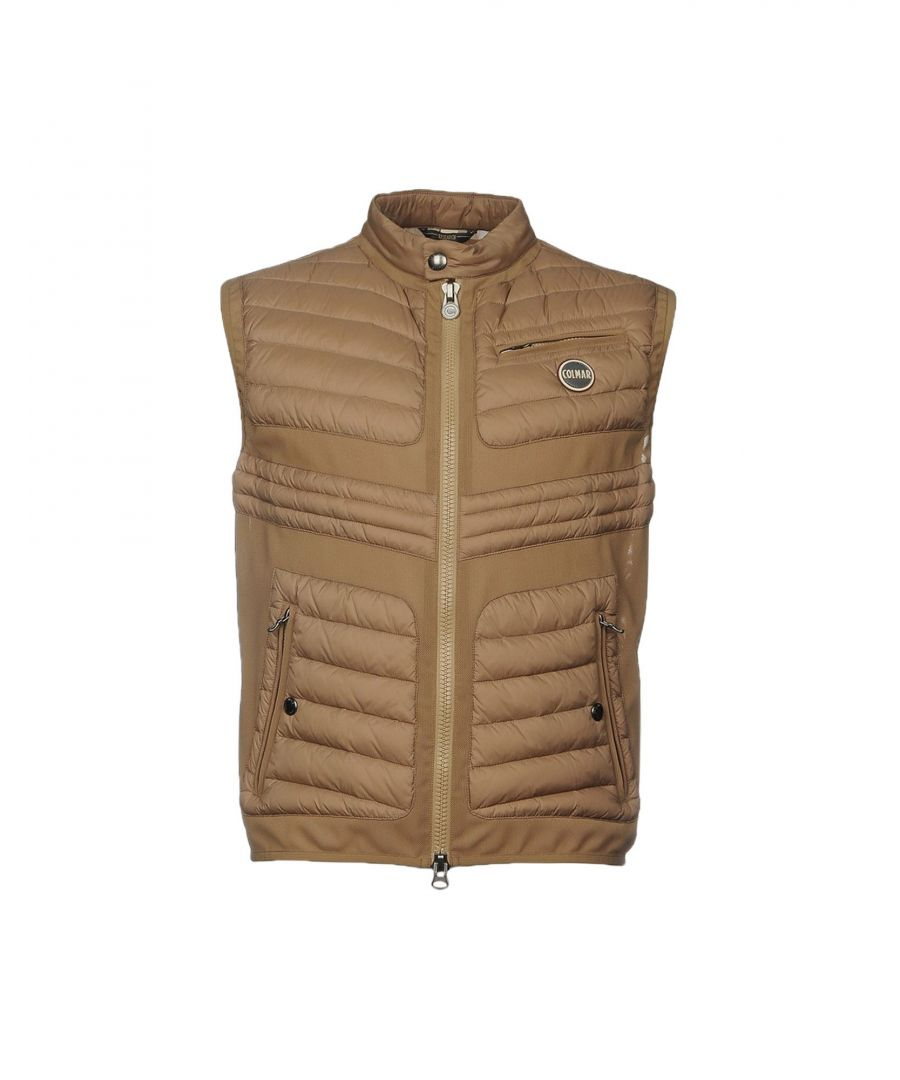 Image for Colmar Beige Techno Fabric Padded Gilet