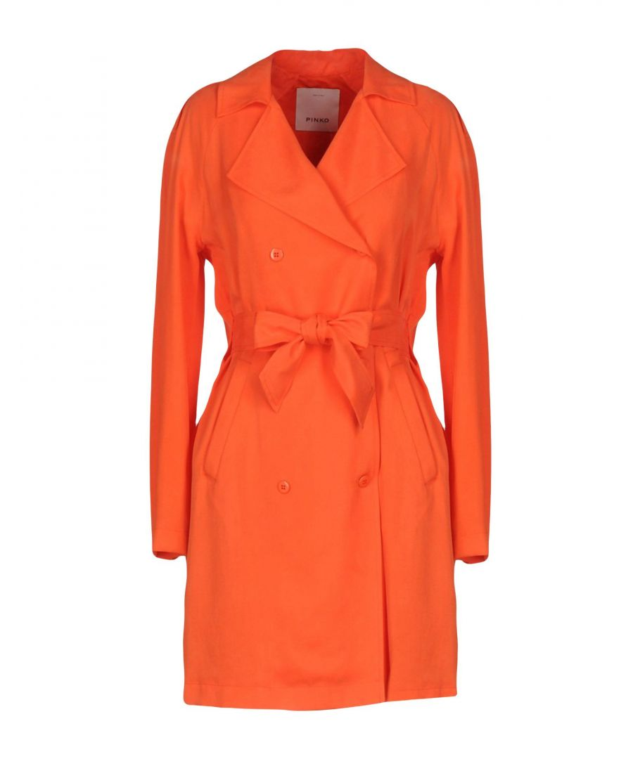 Image for Pinko Orange Belted Jacket