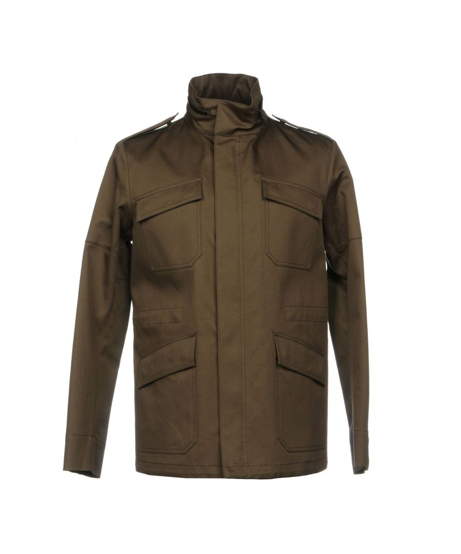 Image for COATS & JACKETS Mauro Grifoni Military green Man Cotton