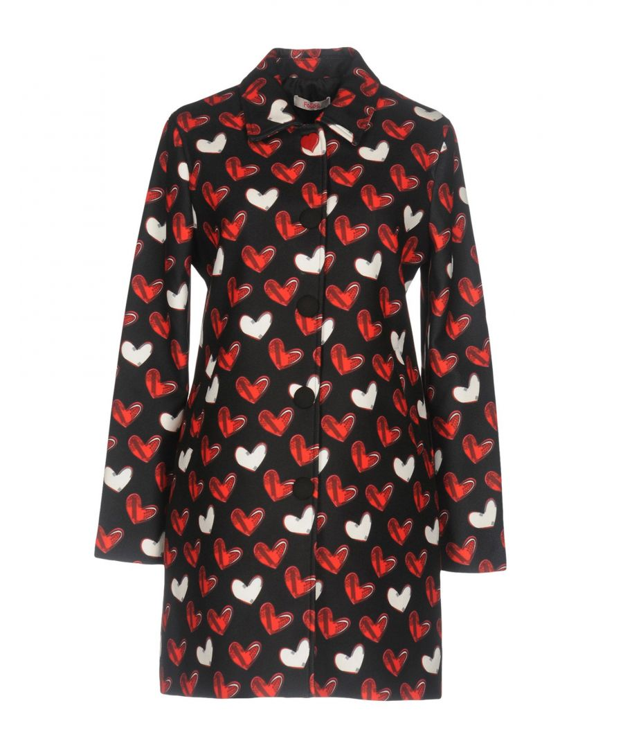 Image for Blugirl Folies Black Heart Print Coat