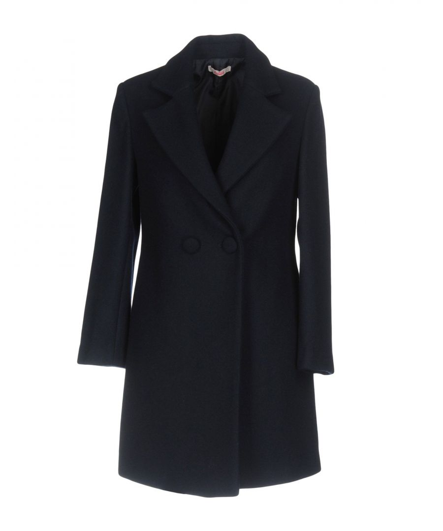 Image for Blugirl Folies Black Wool Double Breasted Coat