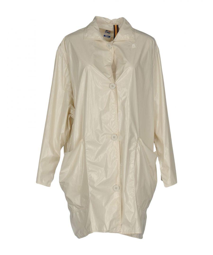 Image for K-Way Light Grey Techno Fabric Jacket