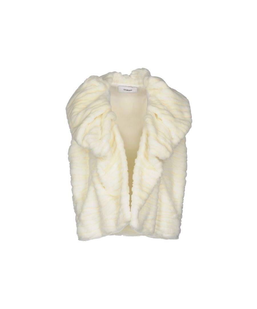 Image for COATS & JACKETS Chalayan Ivory Woman Acrilyc