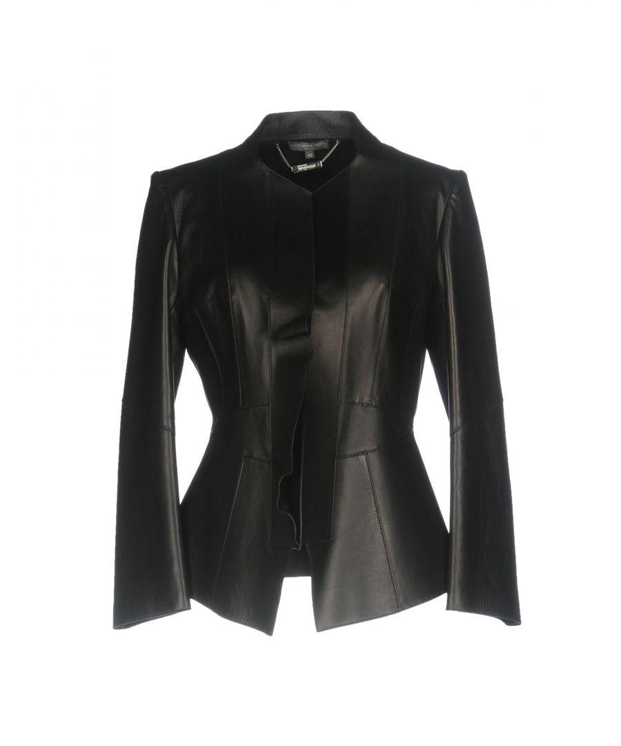 Image for Alexander McQueen Black Leather Jacket