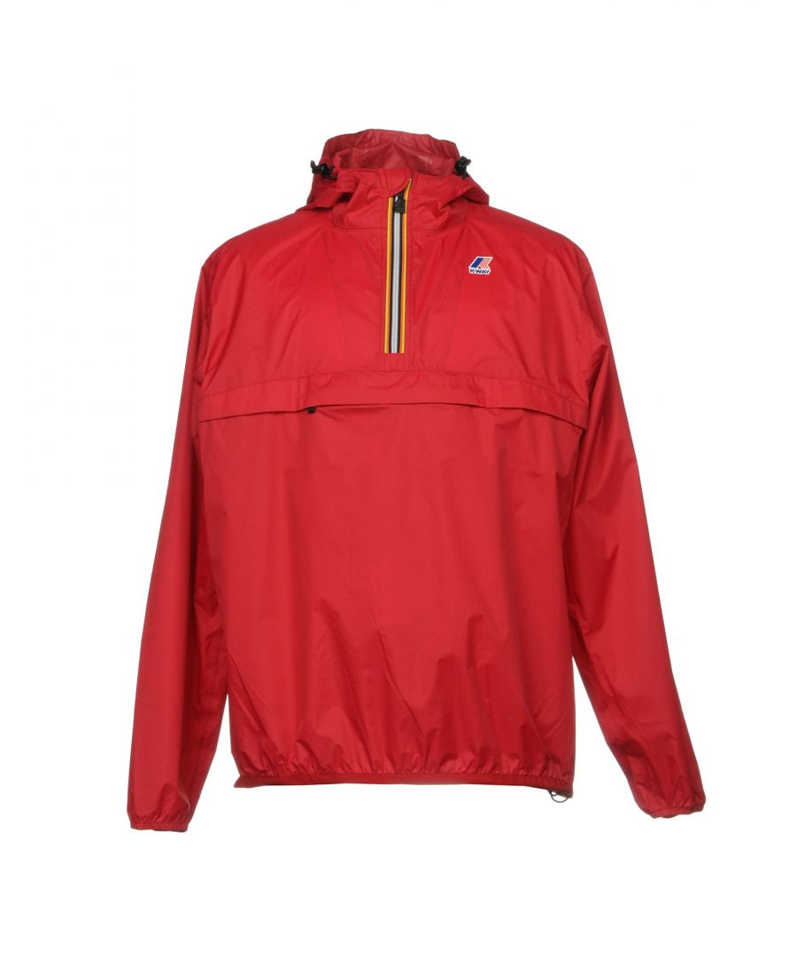 Image for K-Way Red Techno Fabric Jacket