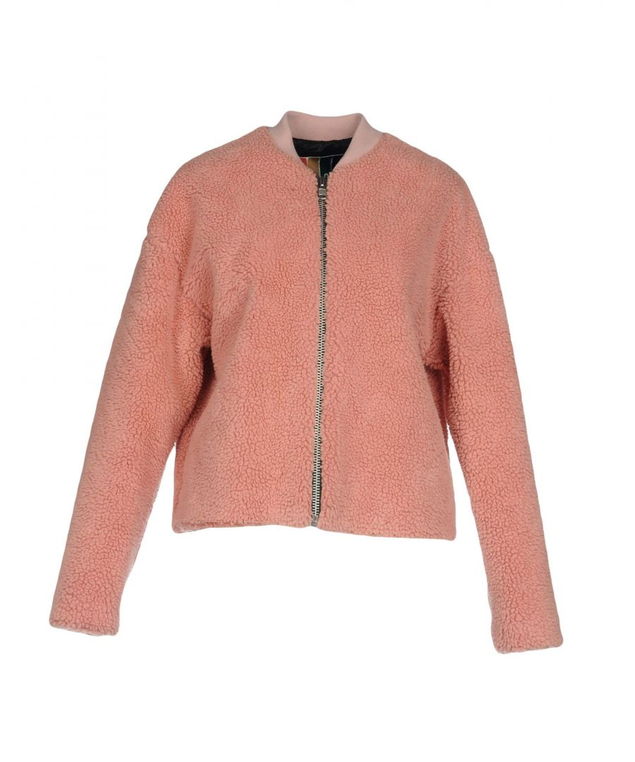 Image for MSGM Pink Faux Fur Jacket