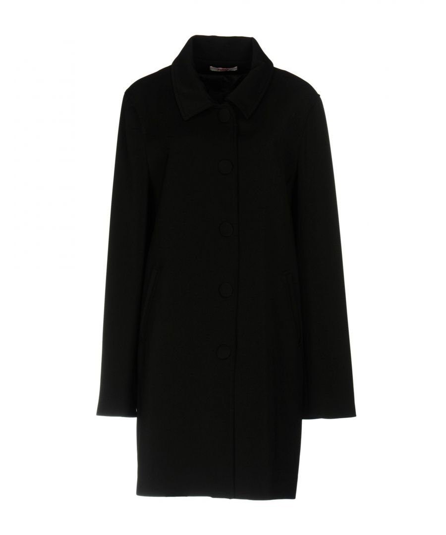 Image for Blugirl Folies Black Classic Overcoat