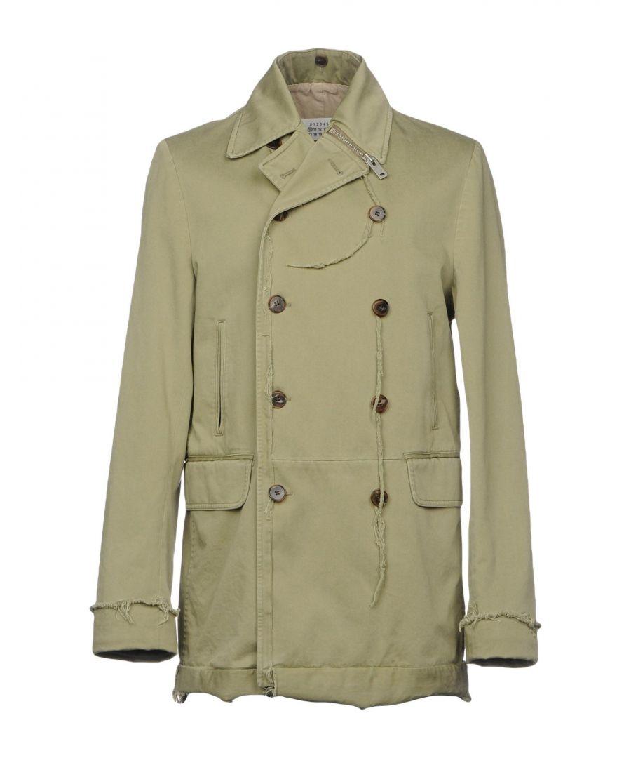 Image for Maison Margiela Khaki Cotton Double Breasted Jacket