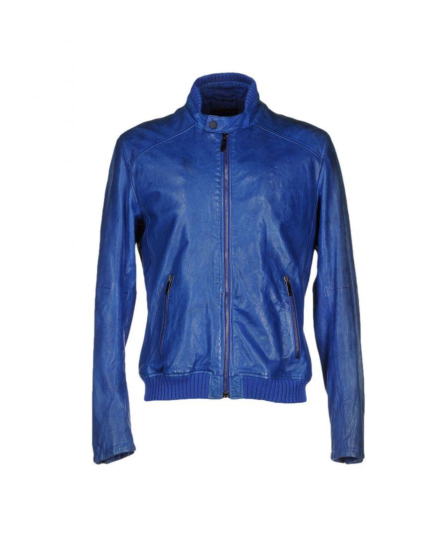 Image for Emporio Armani Azure Lambskin Jacket