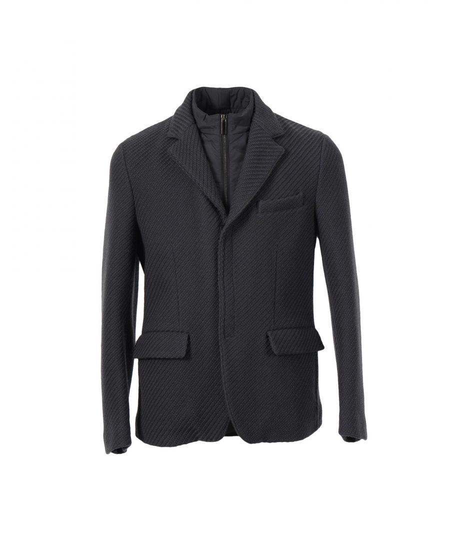 Image for Emporio Armani Lead Virgin Wool Jacket