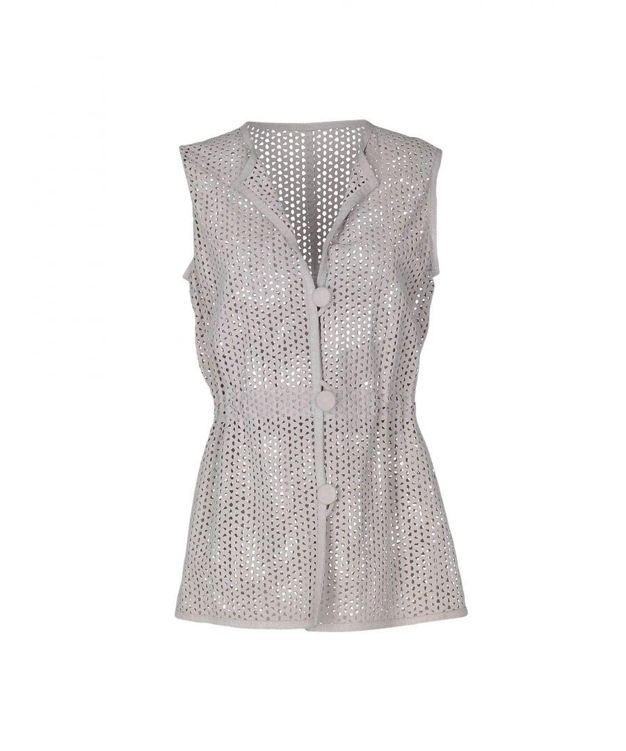 Image for Armani Collezioni Light Grey Sleeveless Jacket