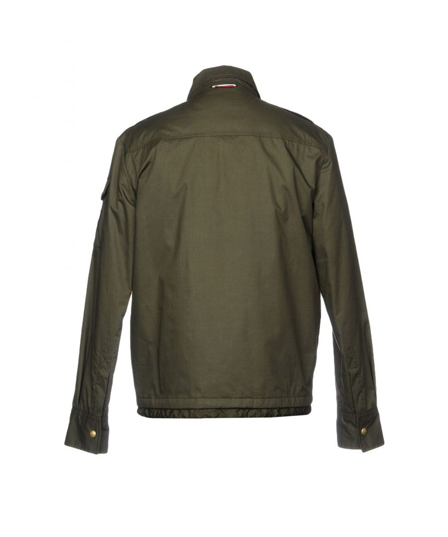 Image for Moncler Gamme Bleu Military Green Cotton Padded Jacket