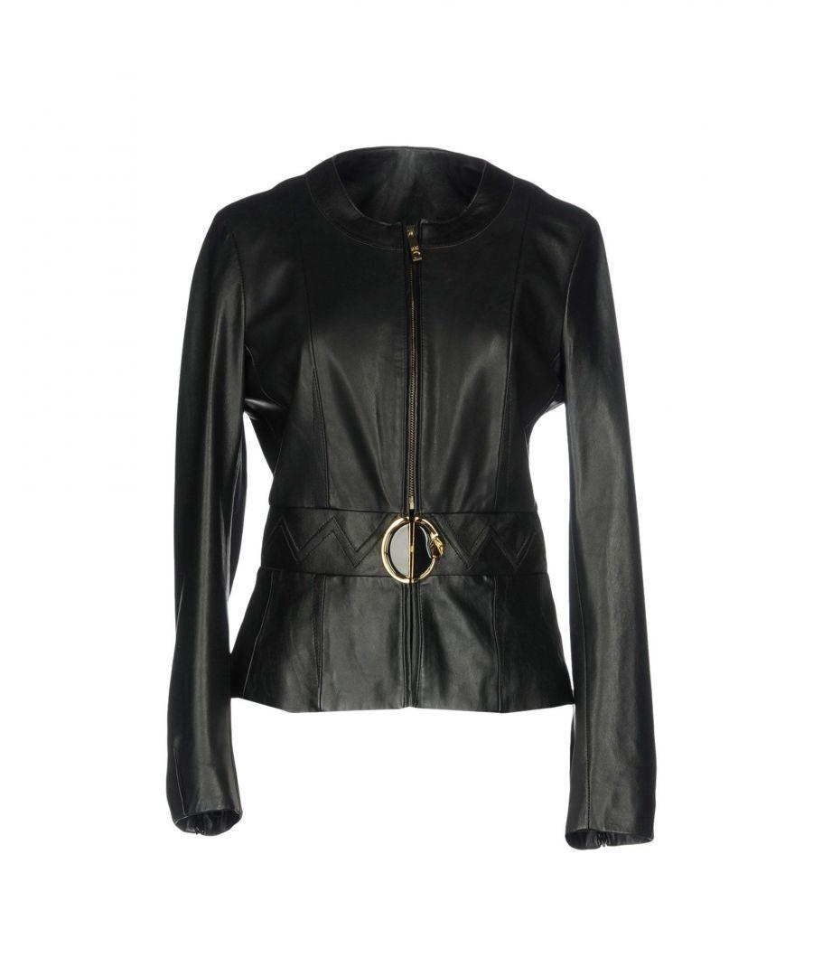 Image for Cavalli Class Black Lambskin Jacket