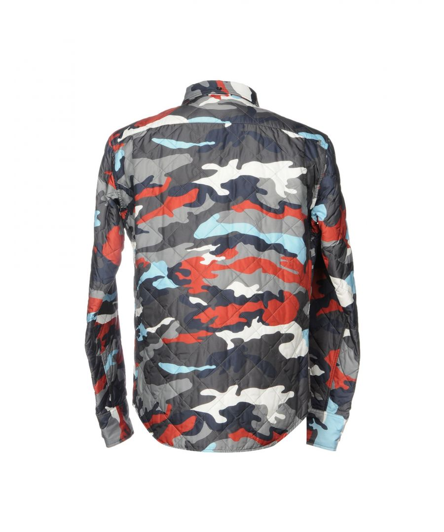 Image for Moncler Gamme Bleu Lead Camouflage Print Padded Jacket