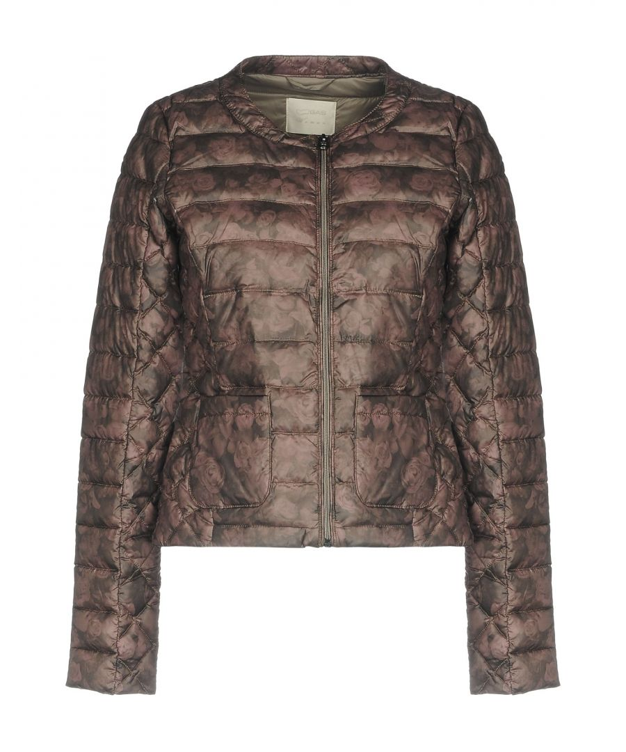 Image for Gas Light Brown Techno Fabric Padded Jacket