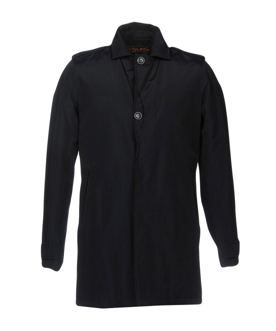 Image for COATS & JACKETS Woolrich Black Man Cotton