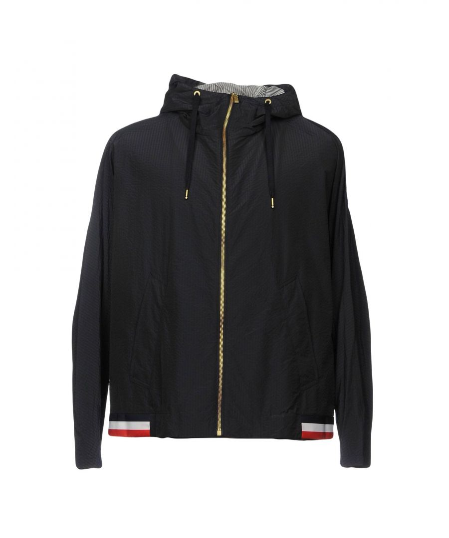 Image for Moncler Gamme Bleu Dark Blue Techno Fabric Jacket