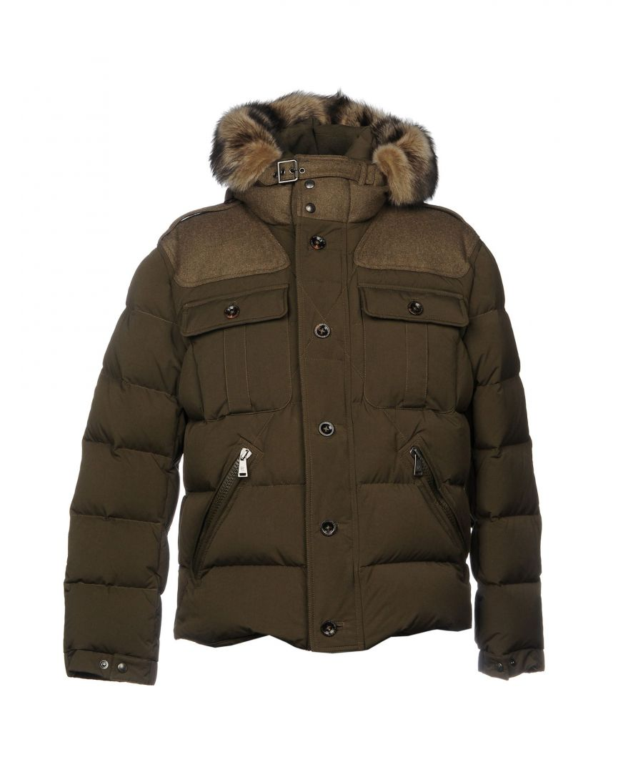 Image for Ralph Lauren Purple Label Military Green Padded Jacket