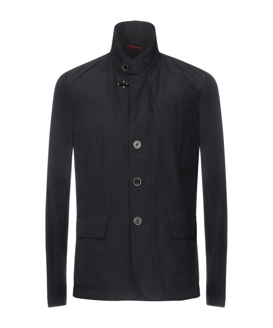 Image for Fay Dark Blue Techno Fabric Jacket