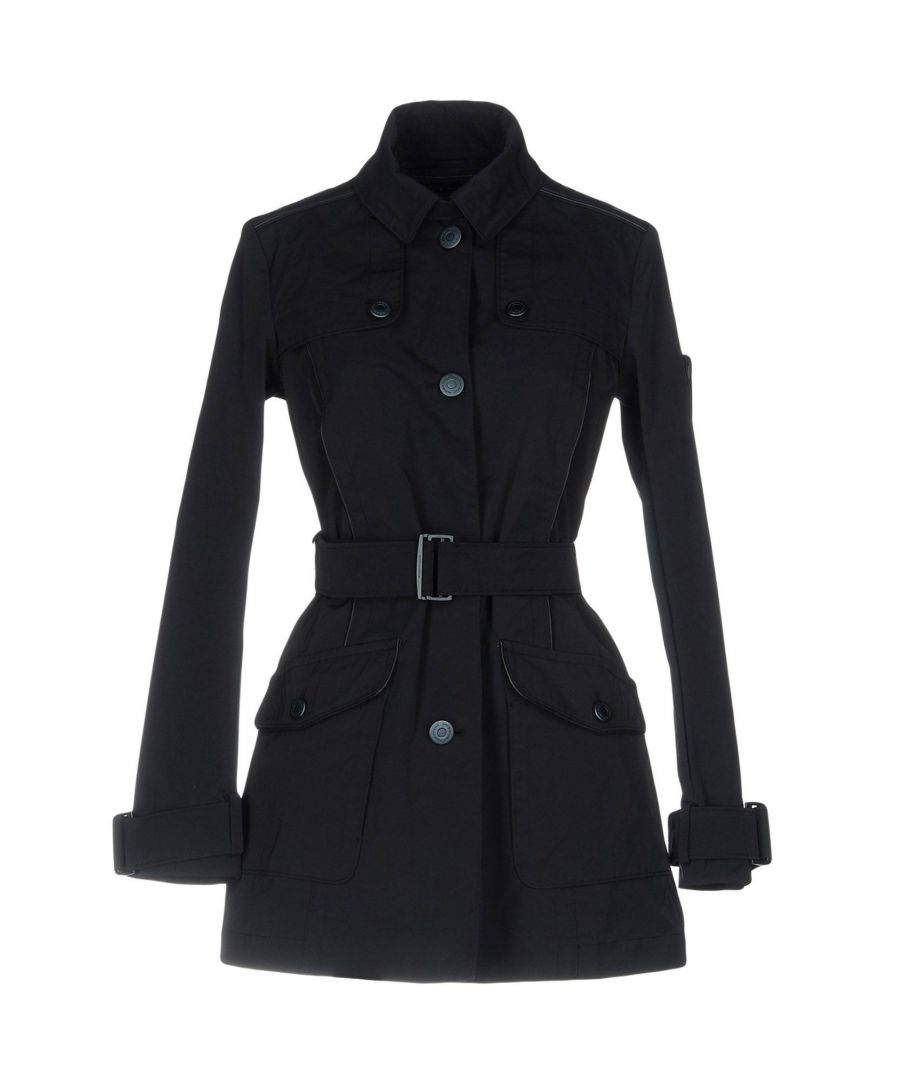 Image for Piquadro Dark Blue Techno Fabric Belted Jacket