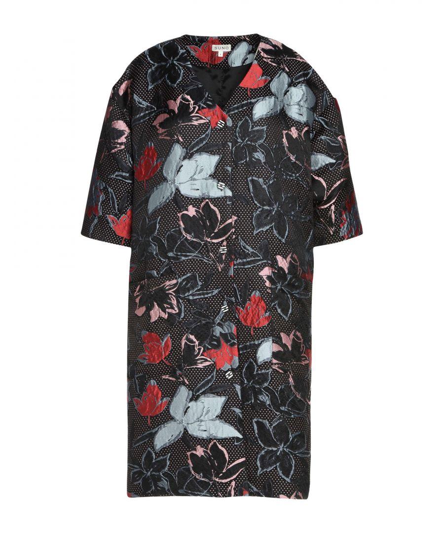 Image for Suno Black Printed Jacket