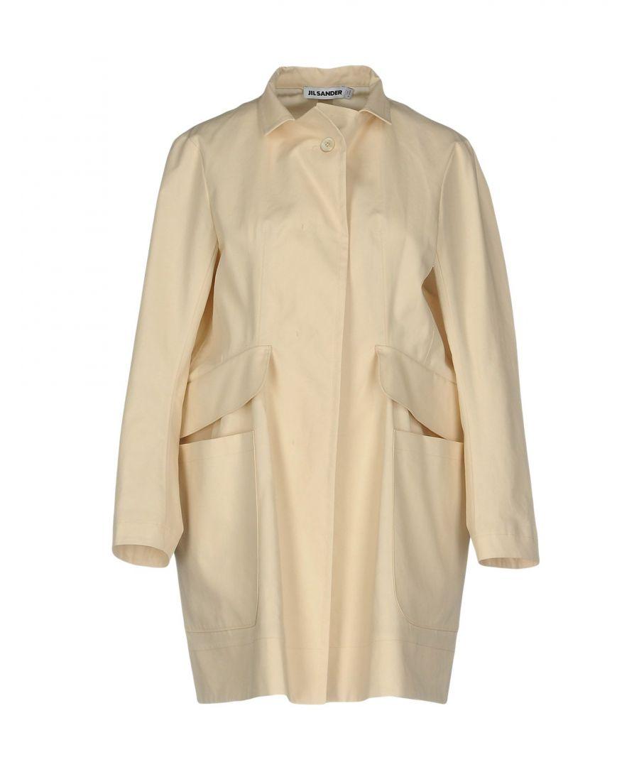 Image for Jil Sander Ivory Cotton Coat