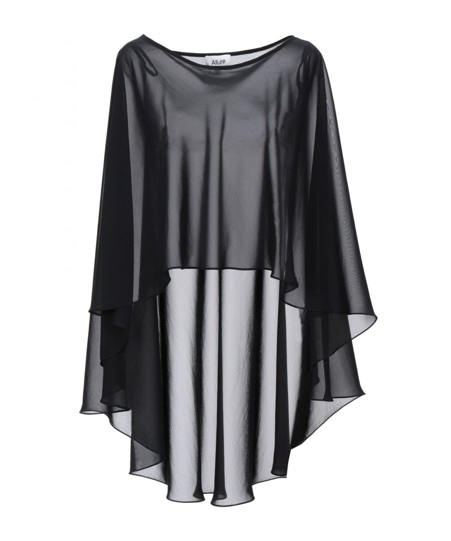 Image for Allure Black Crepe Cape