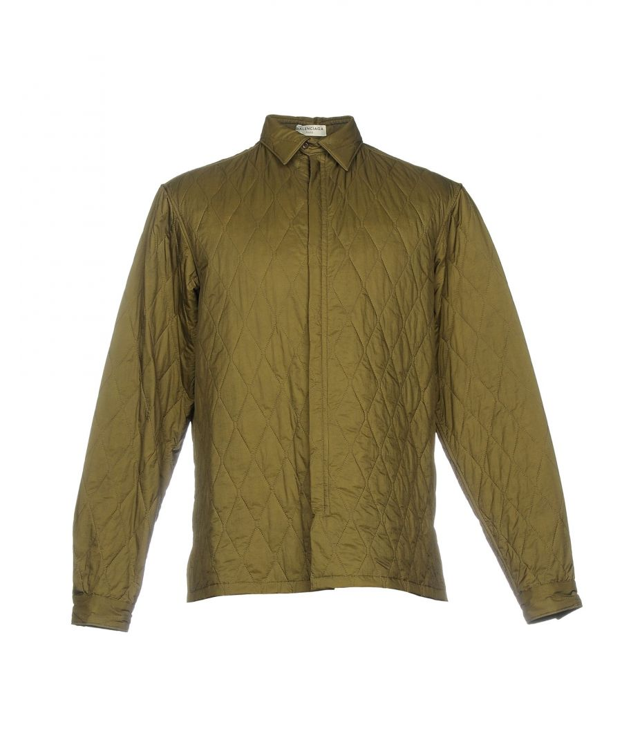 Image for Balenciaga Military Green Quilted Jacket