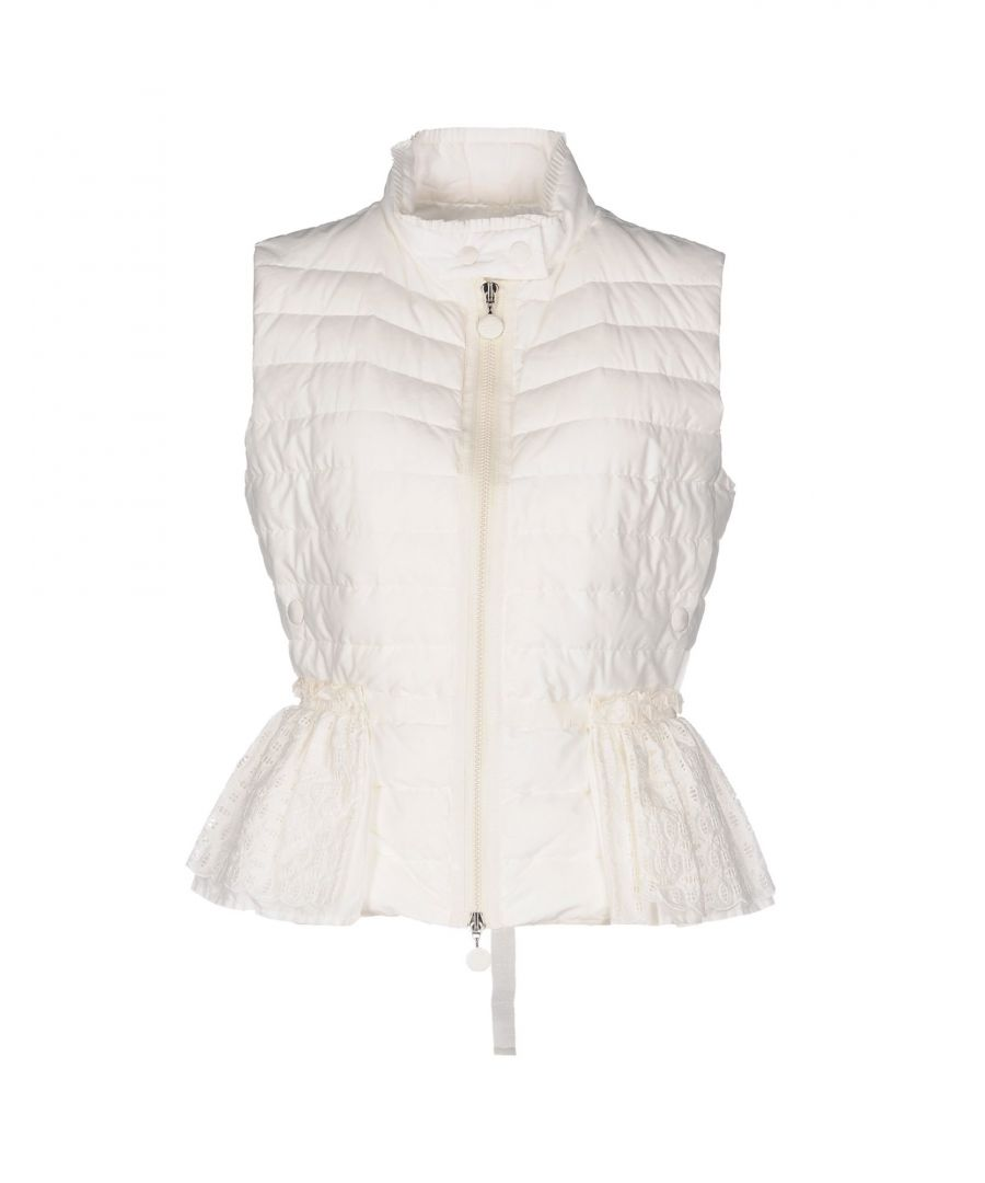 Image for Moncler Ivory Cotton Padded Gilet