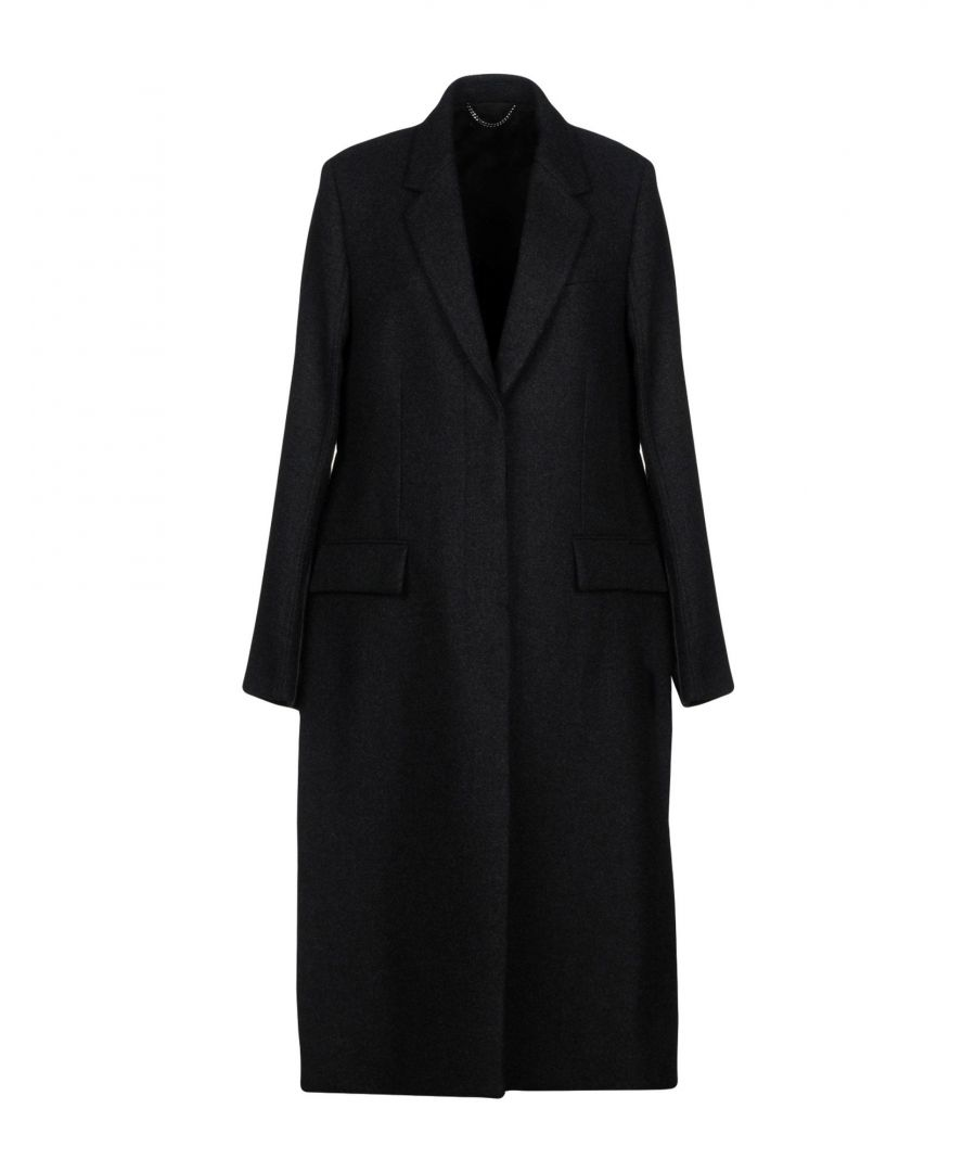 Image for Stella McCartney Lead Wool Single Breasted Coat
