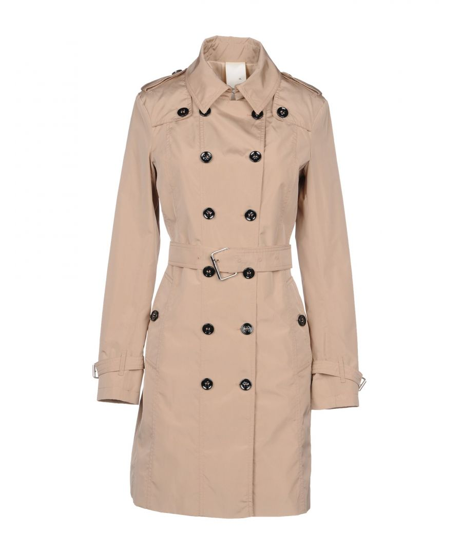 Image for Annie P. Dove Grey Techno Fabric Trenchcoat