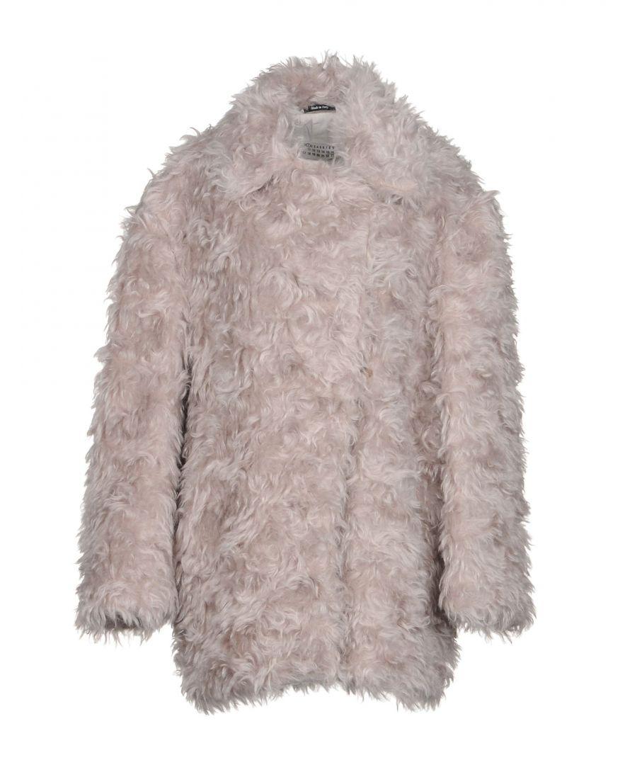 Image for Maison Margiela Light Grey Mohair Wool Jacket