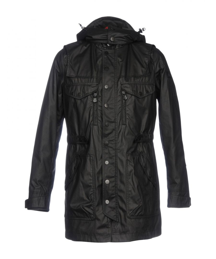 Image for Peuterey Black Techno Fabric Jacket