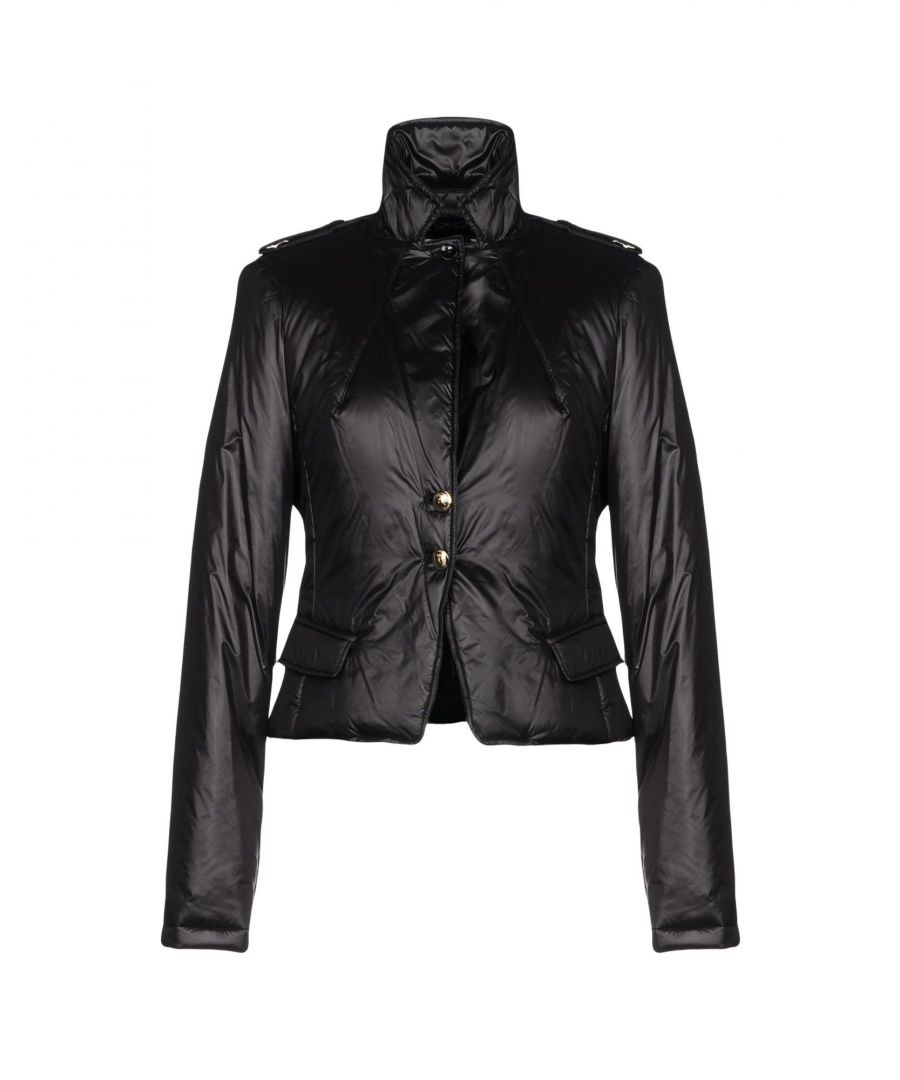 Image for Patrizia Pepe Black Techno Fabric Jacket