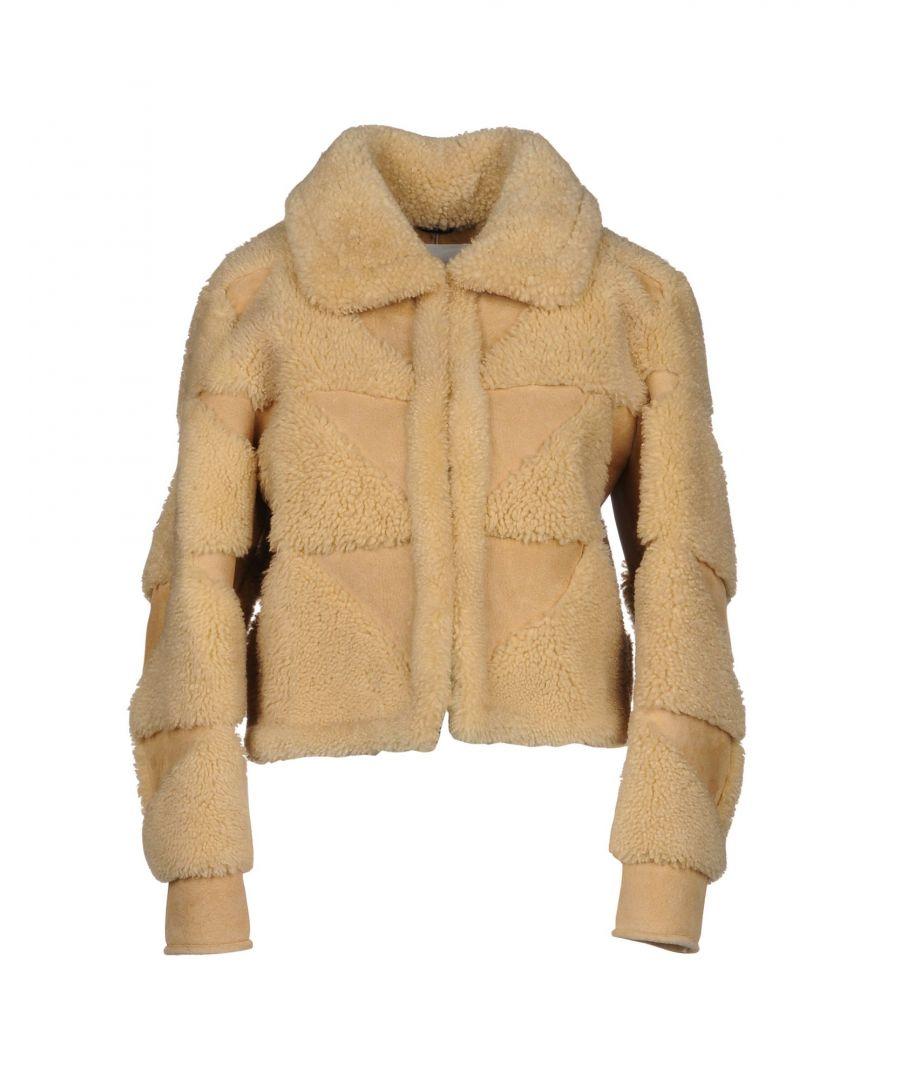 Image for Maison Margiela Sand Lambskin Leather Jacket