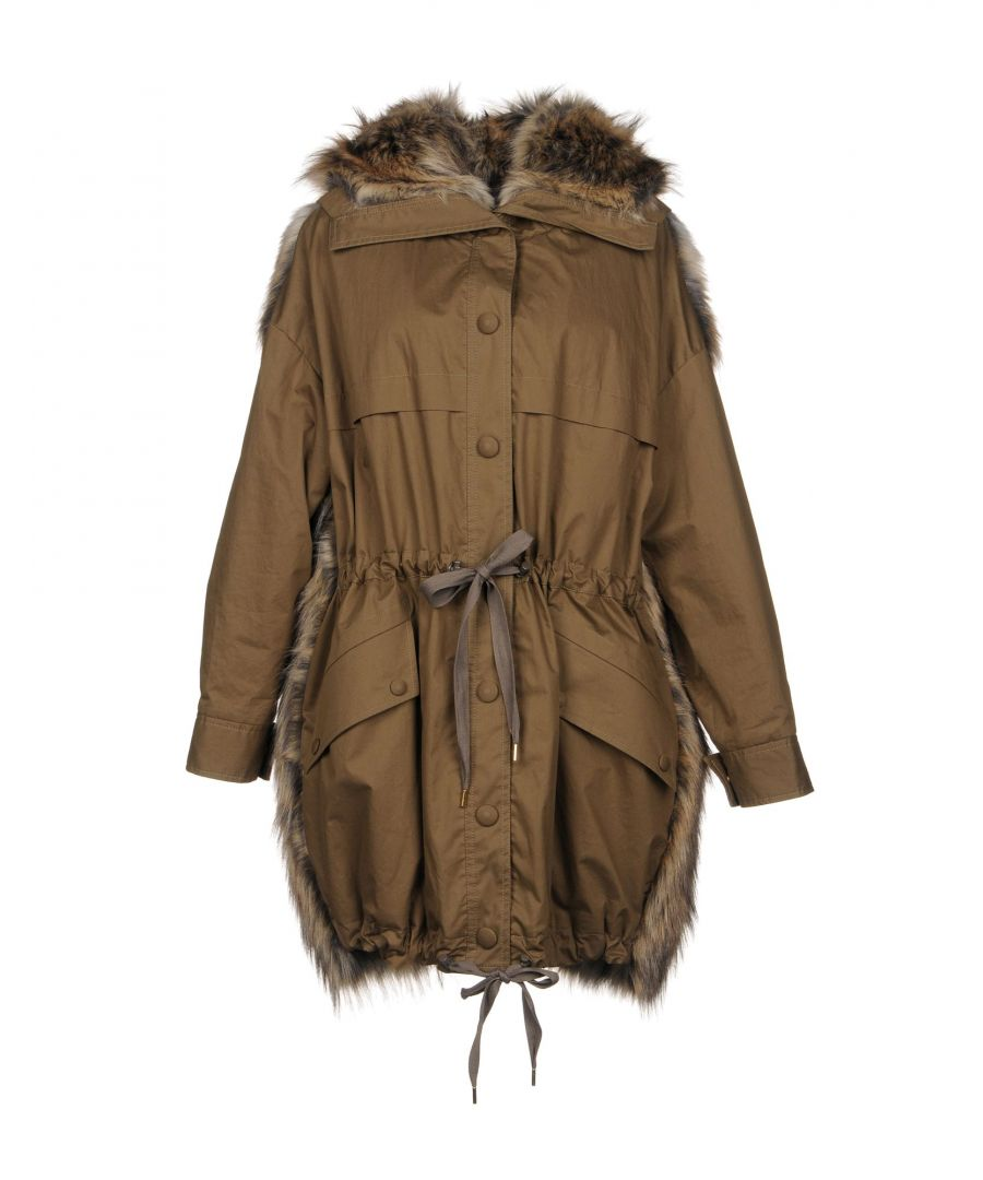 Image for Stella McCartney Military Green Cotton Parka Jacket