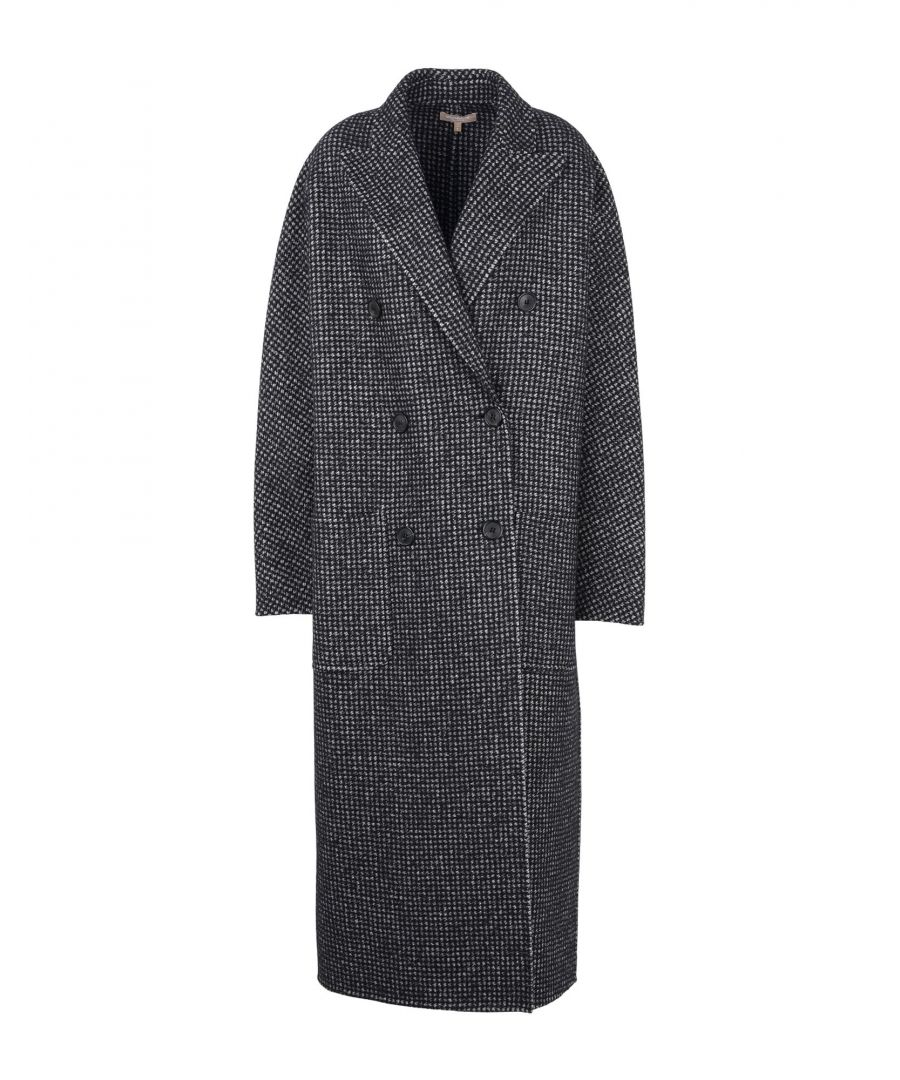 Image for Michael Kors Collection Grey Alpaca Coat