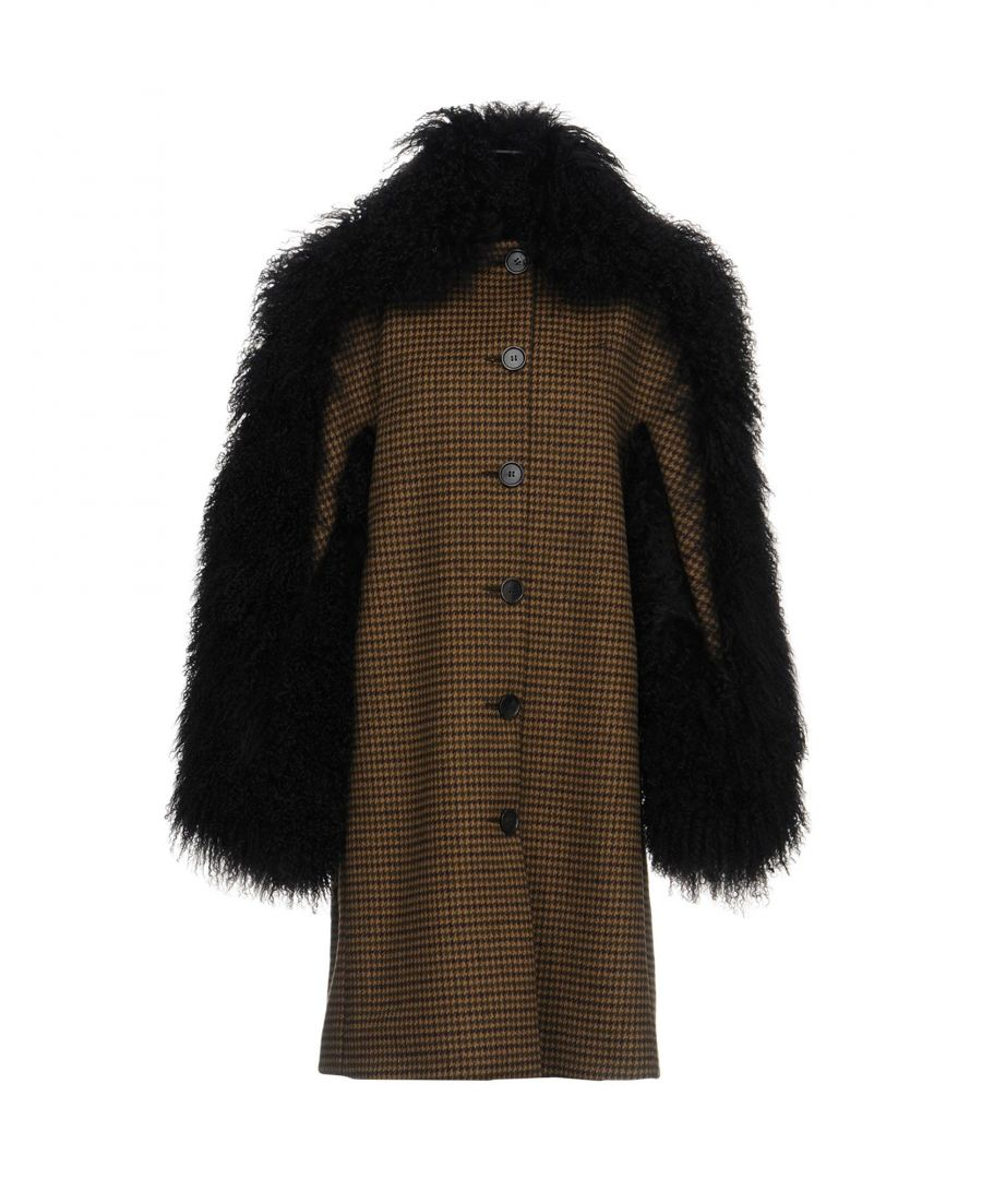 Image for Michael Kors Collection Sand Virgin Wool Coat