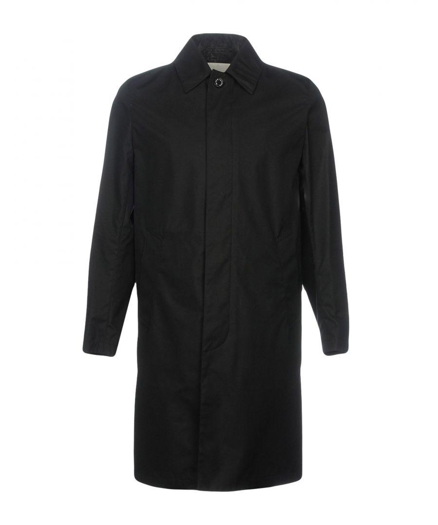 Image for Mackintosh Black Cotton Raincoat